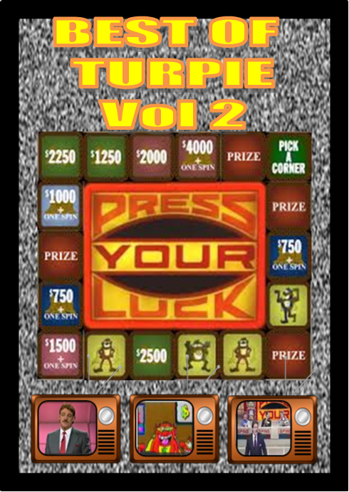 Press Your Luck 4 Disc DVD Set - Best of Turpie